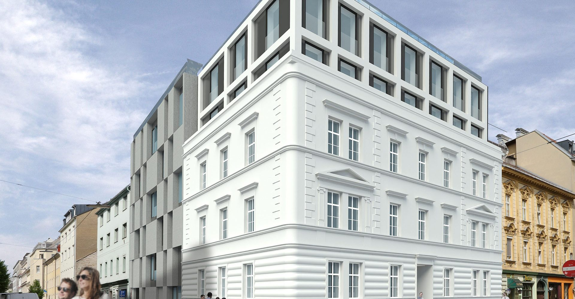 Projekt Schillerstraße Linz