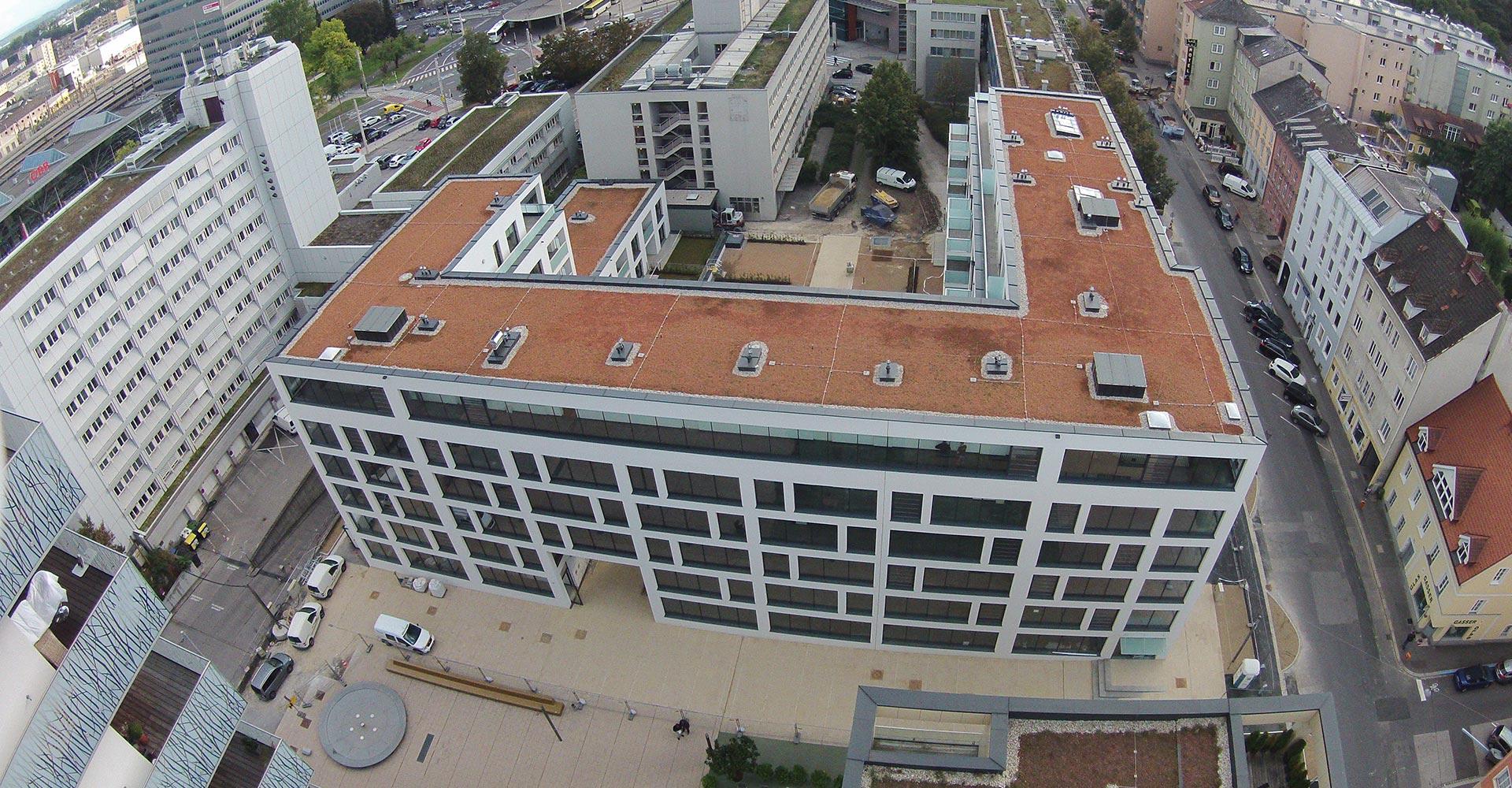 Projekt Weingartshofstraße